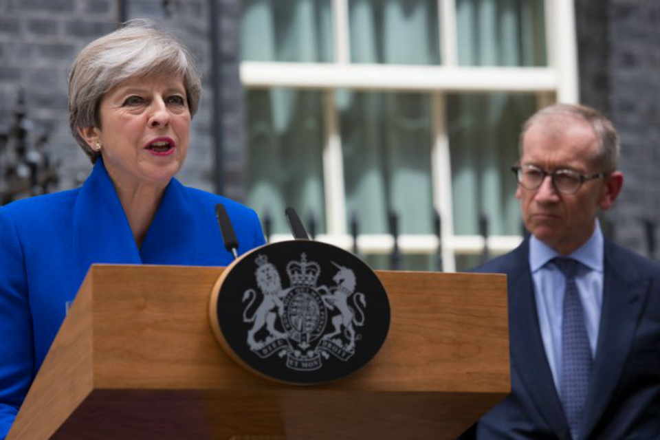 Image result for theresa may 2017 general election speech