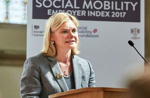 Secretary of State Justine Greening