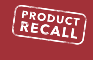 Product recall logo