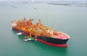 The Kraken 'floating production storage and offloading' (FPSO) unit