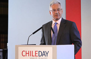 Sir Alan Duncan opens seventh annual Chile Day in London