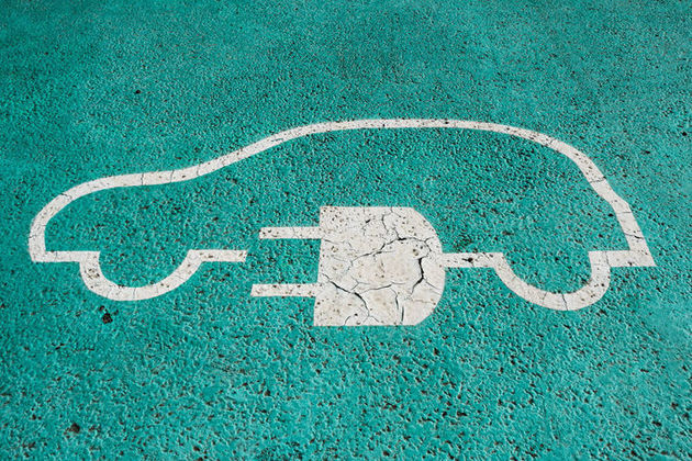 parking space for electric vehicle