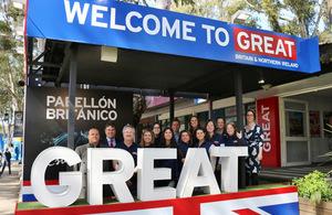 GREAT British Pavilion