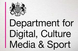 New DCMS logo