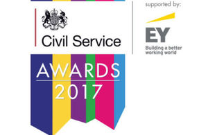 Civil Service Awards 2017 logo