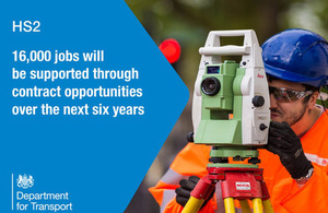 16,000 jobs will be supported through contract opportunities over the next 6 years.