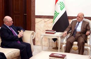 Minister Burt visit to Iraq