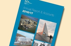 NDA Annual Report and Accounts 2016 to 2017