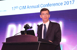 Speech by High Commissioner at the CIM Annual Conference 2017