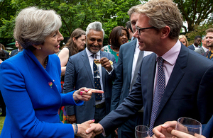 LGBT+ reception at 10 Downing Street