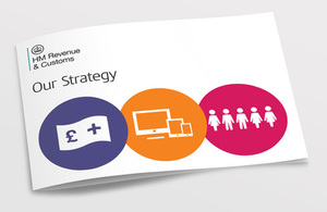 Front cover of the HMRC Strategy