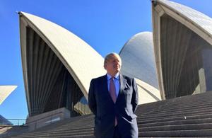 Foreign Secretary arrives in Sydney for AUKMIN 2017