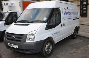 Electric van