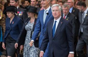 Senior politicians at Passchendaele 100 commemorations
