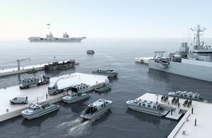 CGI of the new workboats in action. Atlas Elektronik copyright.