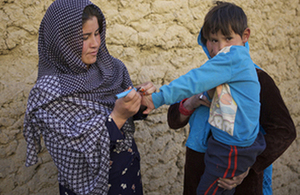 Read the 'UK leads final push to make polio history' article