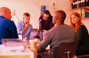 Image of a workshop.