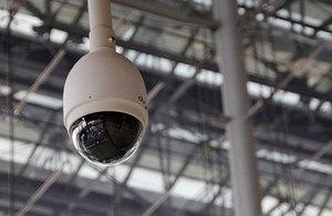 Image of surveillance camera