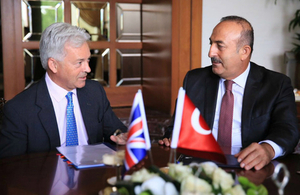 Sir Alan Duncan visit to Turkey