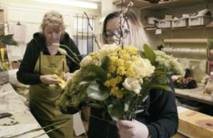 Florist apprentices