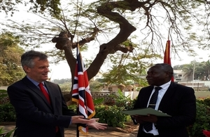 UK opposes illegal wildlife trade in Angola