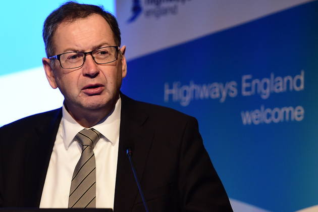 Jim O'Sullivan, Highways England's Chief Executive
