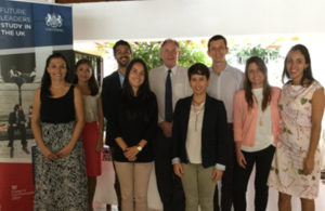 British Embassy San Jose bids farewell to Chevening scholars