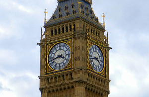 Decorative image of big ben.