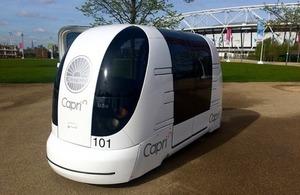 CAPRI connected autonomous vehicle