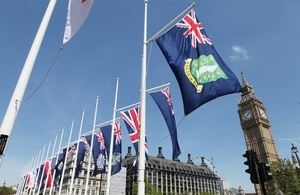 Overseas Territories flags