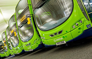 Green buses