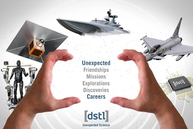 Dstl recruitment image