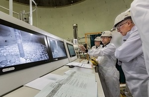 Working remotely, staff begin to remove breeder material from the iconic Dounreay Fast Reactor