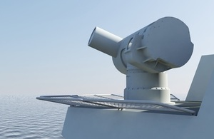 Dragonfire Laser Energy Directed Weapon concept