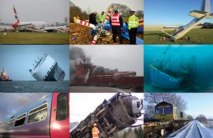Air, Rail and Marine accident photographs