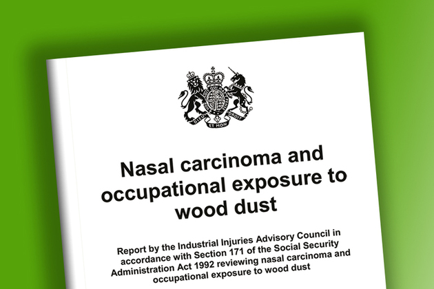 Nasal carcinoma and occupational exposure to wood dust: IIAC report