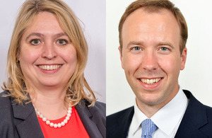 Karen Bradley and Matt Hancock