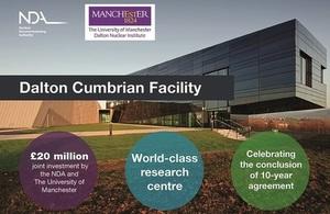 Dalton Cumbrian Facility: 10 years of successful collaboration