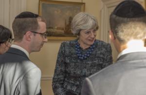 PM at Jewish New Year reception