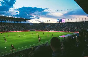 Lithuania vs England football match travel advice