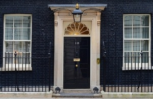 No 10 door