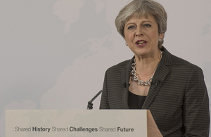Prime Minister Florence speech