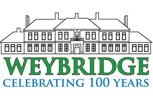 Weybridge 100 years logo