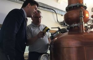 Touring the Isle of Harris Distillery