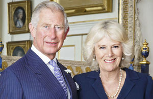 The Prince of Wales and the Duchess of Cornwall will visit Singapore, Malaysia and India. Photo credit: Hugo Burnand