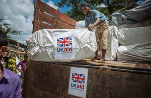 Read the 'UK government doubles public donations to the Disasters Emergency Committee appeal for people fleeing Burma' article