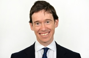 UK Minister for Africa, Rory Stewart OBE MP