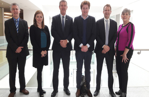 Embassy team visiting Cork