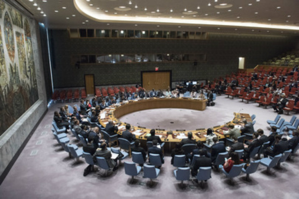 UN Security Council briefing on Burma