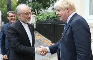 Boris Johnson statement on Iran nuclear deal